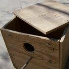 Como construir um ninho para araras