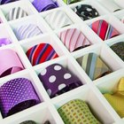 How to get mould off silk ties