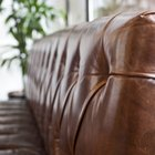 How to clean sticky leather furniture