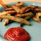 Como reaquecer rapidamente e deixar a batata frita crocante