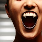 How to Make Vampire Fangs Stick to Your Teeth