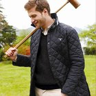 How to clean a Barbour quilted coat