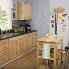 How to install new kitchen cabinet door hinges