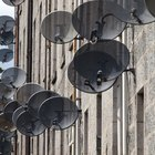 How to set up a satellite dish with no meter