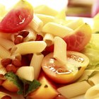 How to make homemade penne pasta noodles