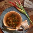 How to thicken vegetable soup