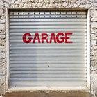 How to build a garage door frame