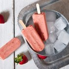 Solo para adultos: helados de fresa y cerveza
