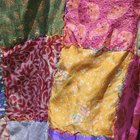 How to make patchwork hippie clothes