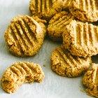 Galletas de mantequilla de maní sin gluten ni azúcar procesado
