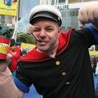 How to make a homemade Popeye & Olive Oyl Halloween costume