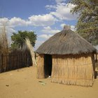 How to make an African hut project