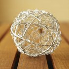 How to make chicken wire Christmas light balls