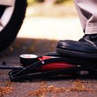 How to use a foot pump tyre inflator