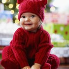 How to seam a knitted baby jumper