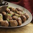 How to defrost frozen meatballs
