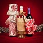 Dez maneiras criativas para embrulhar uma garrafa de vinho