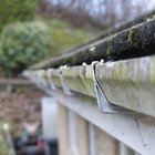 How to calculate slope for rain gutter installation