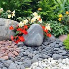 DIY pebble garden
