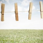 How to tighten a loose washing line