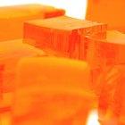 How to make orange food colouring
