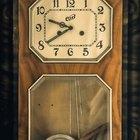How to fix a pendulum clock