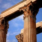 Difference between Greek and Roman columns