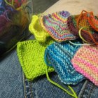 How to sew multiple knitted squares together