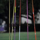 How to measure the distance thrown for a javelin