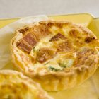 How to defrost and heat up quiche