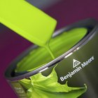 How to make lime green paint