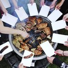 Adult barbecue party games