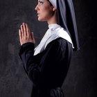 How to make a homemade nun costume