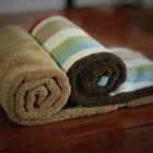 Como aquecer toalhas no micro-ondas