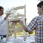 Cómo pintar los muebles de madera