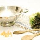 Cómo hace ensalada verde