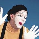 Como aplicar a maquiagem de mímico