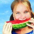 Como colher uma melancia