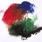 Cómo mezclar colores para obtener pintura verde