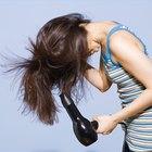 Cómo usar un secador de pelo