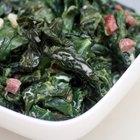 Cómo cocinar espinaca fresca
