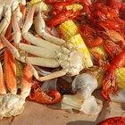 Cómo cocinar patas de cangrejo real