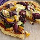 Cómo hacer la pizza en la estufa