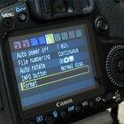 Como formatar o cartão de memória em uma câmera Canon