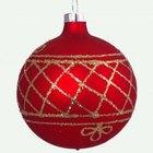Cómo hacer una piñata de bola navideña