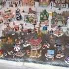Cómo construir una villa navideña en miniatura