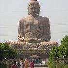 Significados de diferentes estátuas de Buda