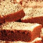 Cómo preparar brownies con la mezcla de una torta