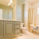 Cómo pintar ideas para baños pequeños