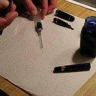 Como fazer tinta para canetas-tinteiro